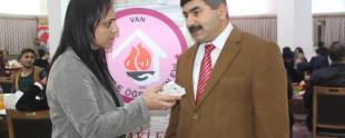 Tuşba İskele öğretmenevi müdürü Cihat Aras