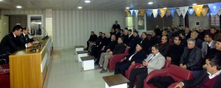Ak Parti İl Başkanı Zahir Soğanda'ya tebrik ziyareti Van