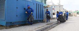 Van Sanayi Sitesi Çöp toplama