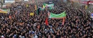 Van Öcalan Özgrülük yürüyüş eylem