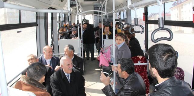 Van büyükşehir belediye yeni otobüs