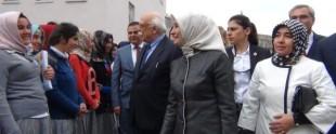 Sare Davutoğlu Van'da Kız Yurdunun Açılışına Katıldı