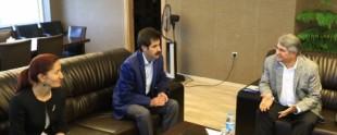 CHP Heyetinden Eş Başkanlara Ziyaret