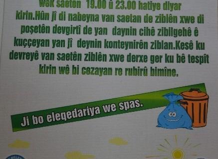 Erciş Belediyesi'nden Çöp Poşetleme Sistemi