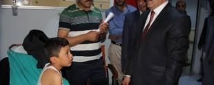 AK Parti Van Milletvekili Kayatürk'ten Hasta Ziyareti