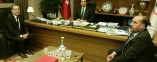 Ak Parti Edremit İlçe Teşkilatından Fatih Çiftçi'ye Hayırlı Olsun Ziyareti